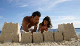 Come costruire il castello di sabbia perfetto insieme ai bambini